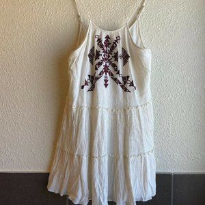 Honey Punch Embroidered Spaghetti Strap Tank Top